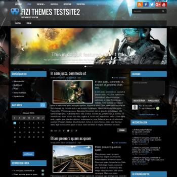 Free theme - BS Gaming 03 - Fizi Themes